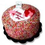 Playfull Rainbow Cake