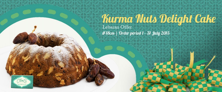 Kurma Nuts Delight Cake