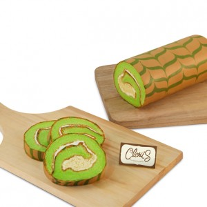 Roll Tart Pandan Cheese