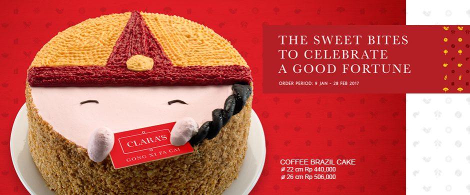 Coffee Brazil Cake