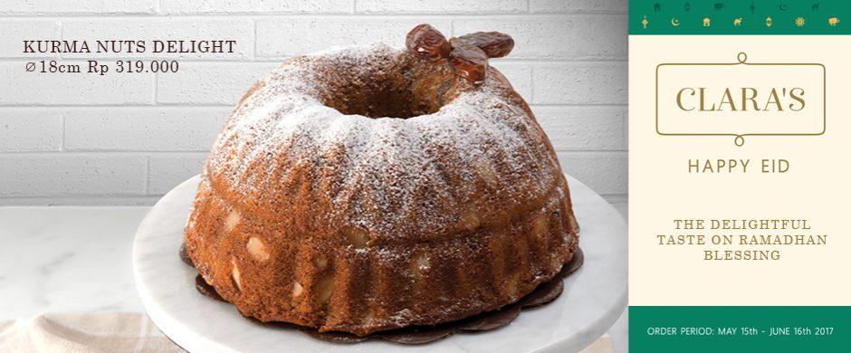 Kurma Delight Cake