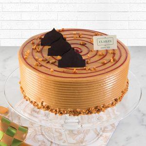 Peanut Butter & Jelly Cake